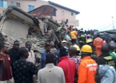Ruins, death, rescues as three-storey building collapses in Lagos + PICTURES