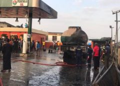 Petrol station in Ogba on fire – Lagos Emergency Agency