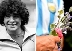 Millions of fans barred as Maradona Buried next to mother, father's graves